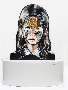 Sandra  Chevrier -  <strong>La Cage et le commencement (BACK)</strong> (<strong style = 'color:#635a27'></strong>)<bR />