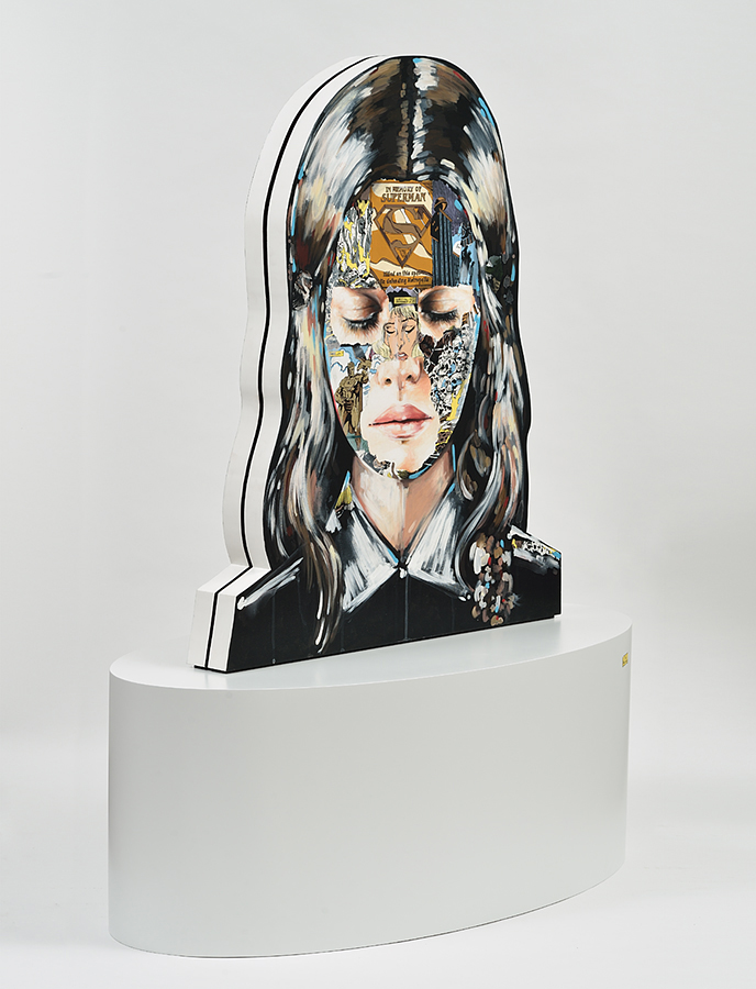 Sandra  Chevrier -  <strong>La Cage et le commencement (DETAIL)</strong> (<strong style = 'color:#635a27'></strong>)<bR />