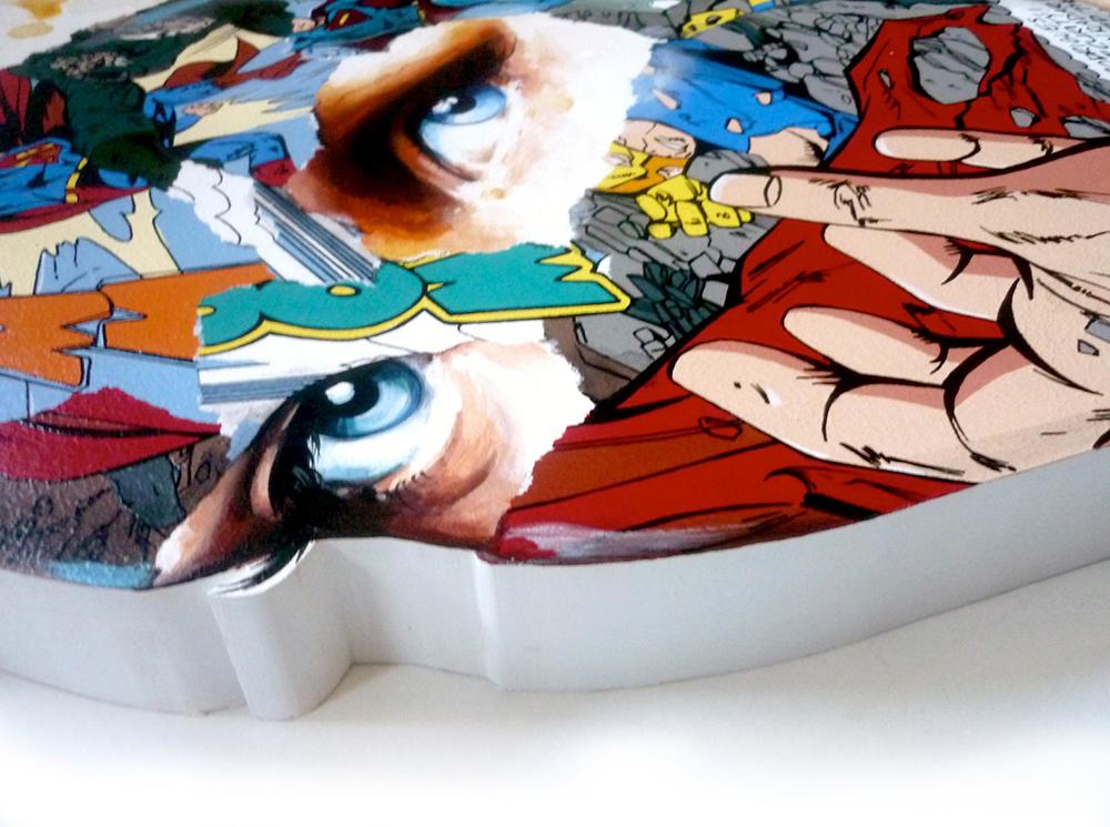 Sandra  Chevrier -  <strong>La Cage qui tend la main vers l'espoir (DETAIL)</strong> (<strong style = 'color:#635a27'></strong>)<bR />