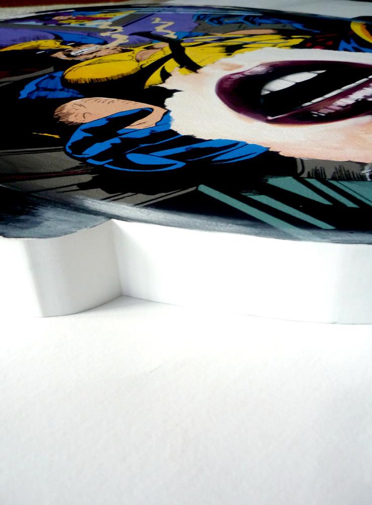 Sandra  Chevrier -  <strong>La Cage et la Rage au coeur (DETAIL)</strong> (<strong style = 'color:#635a27'></strong>)<bR />