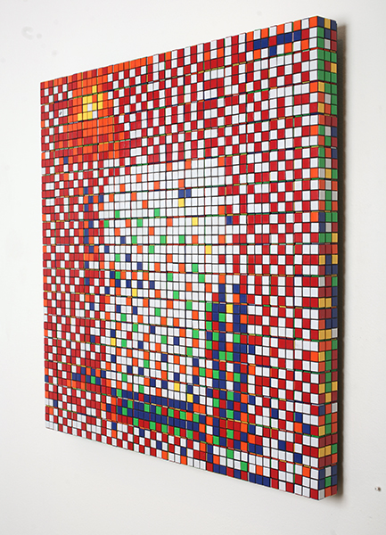 Invader  &nbsp -  <strong>Rubik Three Imaginary Boys (DETAIL)</strong> (<strong style = 'color:#635a27'></strong>)<bR />