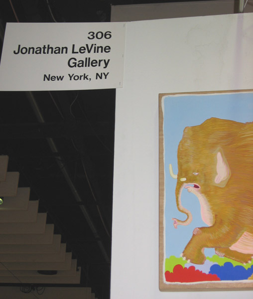 AAF  & nbsp -  <strong>the booth</strong> (<strong style = 'color:#635a27'></strong>)<bR /> Booth 306 - Jonathan LeVine Gallery