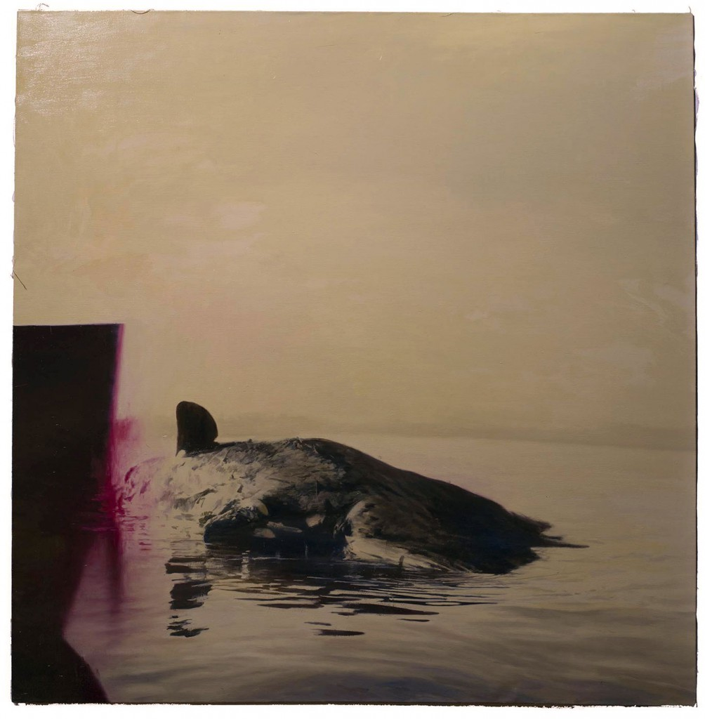 Phil  Hale -  <strong>Life Wants to Live</strong> (2014<strong style = 'color:#635a27'></strong>)<bR /> (11),   oil on linen,   54 x 54 inches  (137.16 x 137.16 cm)