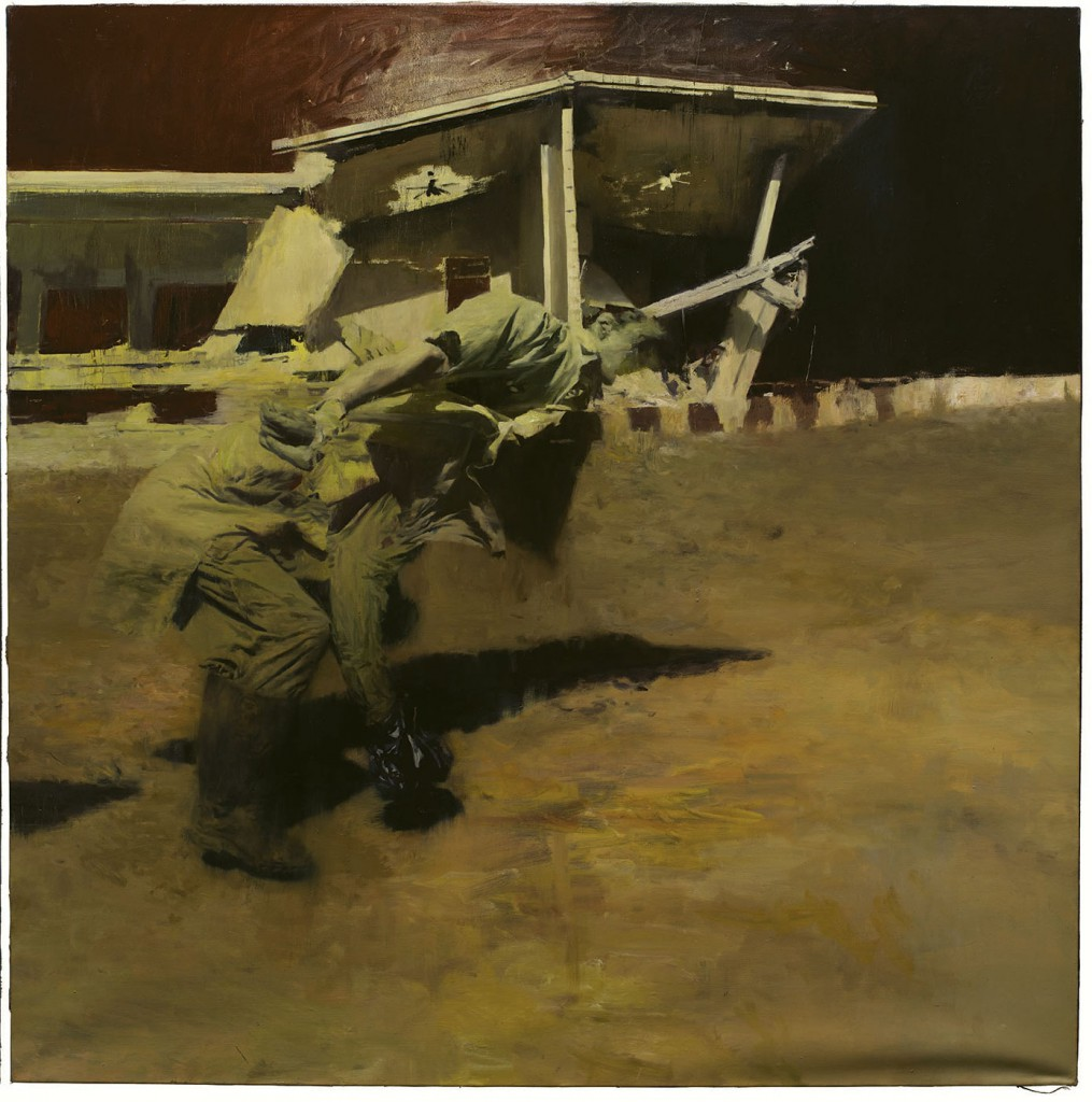 Phil  Hale -  <strong>Life Wants to Live</strong> (2014<strong style = 'color:#635a27'></strong>)<bR /> (3),   oil on linen,   54 x 54 inches  (137.16 x 137.16 cm)