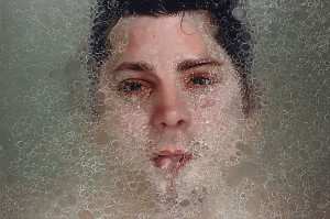 Alyssa  Monks -  <strong>Circle</strong> (2013<strong style = 'color:#635a27'></strong>)<bR /> oil on linen,   48 x 72 inches  (121.92 x 182.88 cm)
