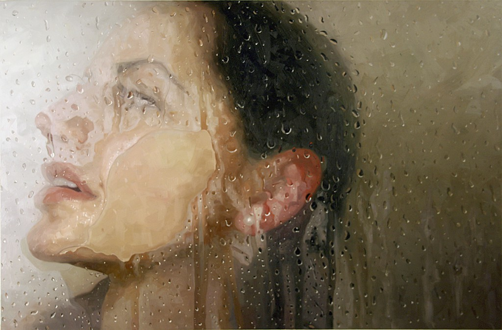 Alyssa  Monks -  <strong>Lift</strong> (2013<strong style = 'color:#635a27'></strong>)<bR /> oil on linen,   54 x 82 inches  (137.16 x 208.28 cm)