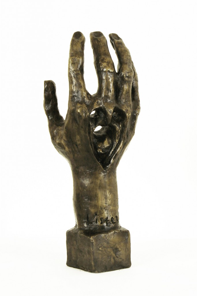 Anthony  Lister -  <strong>Hand (DETAIL)</strong> (<strong style = 'color:#635a27'></strong>)<bR />