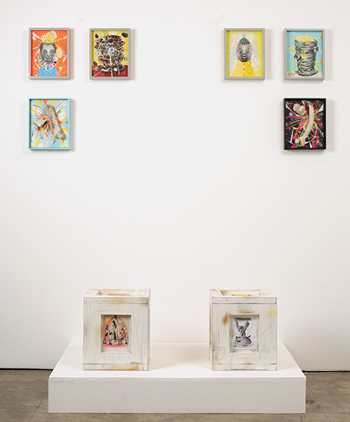 Clayton Brothers  &nbsp -  <strong>Clay Development One & Two (INSTALLATION VIEW)</strong> (<strong style = 'color:#635a27'></strong>)<bR />
