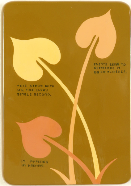 Jim  Houser -  <strong>Every Second</strong> (2005<strong style = 'color:#635a27'></strong>)<bR /> Acrylic on wood,   7 x 5 inches