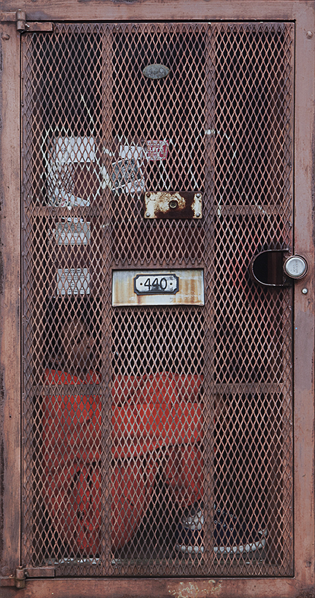 Dan Witz -  <strong>Rusty Locker</strong> (<strong style = 'color:#635a27'></strong>)<bR />