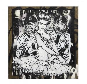 Faile -  <strong>NYC Faile Stencil</strong> (<strong style = 'color:#635a27'></strong>)<bR />