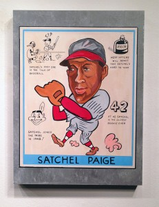 Freedom    -  <strong>Satchel Paige</strong> (2014<strong style = 'color:#635a27'></strong>)<bR /> 18 x 24 inches  (45.72 x 60.96 cm)
