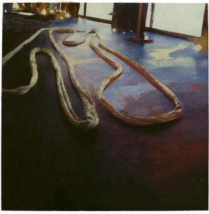 Phil  Hale -  <strong>Life Wants to Live</strong> (2014<strong style = 'color:#635a27'></strong>)<bR /> (12),   oil on linen,   54 x 54 inches  (137.16 x 137.16 cm)