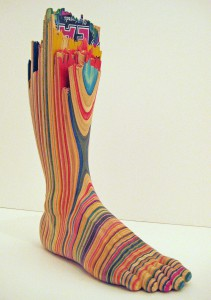 Haroshi    -  <strong>Screaming Foot (DETAIL)</strong> (<strong style = 'color:#635a27'></strong>)<bR />