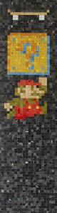 Haroshi    -  <strong>Sk8 Box Mario</strong> (2009<strong style = 'color:#635a27'></strong>)<bR /> used skateboards,   38 x 10.25 x .75 inches  (96.52 x 26 x 1.9 cm)