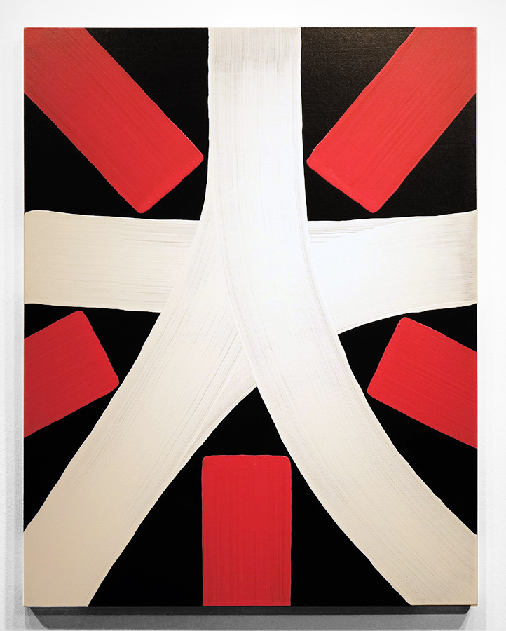 Eric  Haze -  <strong>Superstar #1</strong> (2014<strong style = 'color:#635a27'></strong>)<bR /> acrylic on canvas,   34 x 44 inches  (86.36 x 111.76 cm)