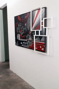 How & Nosm   -  <strong>Enormous Sacrifice (installation view)</strong> (<strong style = 'color:#635a27'></strong>)<bR />