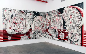 How & Nosm   -  <strong>Live and Tell (installation view)</strong> (<strong style = 'color:#635a27'></strong>)<bR />