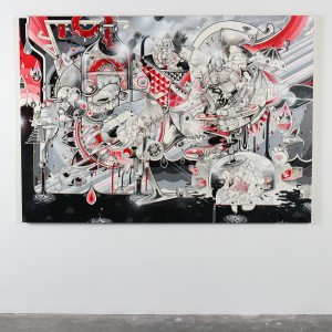 How & Nosm   -  <strong>Old Days Celebration (installation view)</strong> (<strong style = 'color:#635a27'></strong>)<bR />