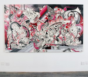 How & Nosm   -  <strong>The Light Burden of Trust (installation view)</strong> (<strong style = 'color:#635a27'></strong>)<bR />