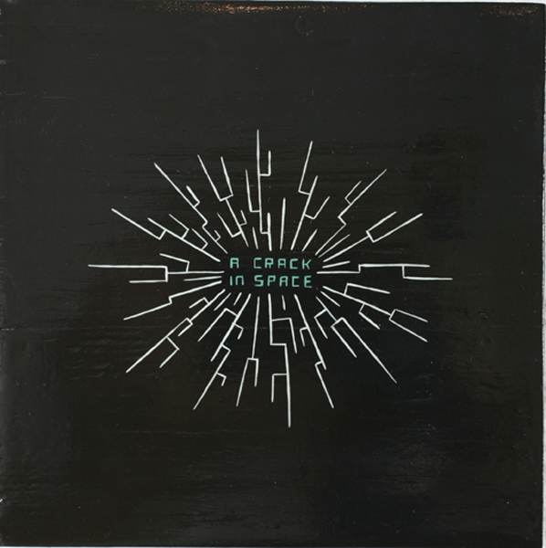 Jim  Houser -  <strong>Crk in Spc</strong> (2007<strong style = 'color:#635a27'></strong>)<bR /> Acrylic on Wood,   7 3/4 x 7 3/4 inches