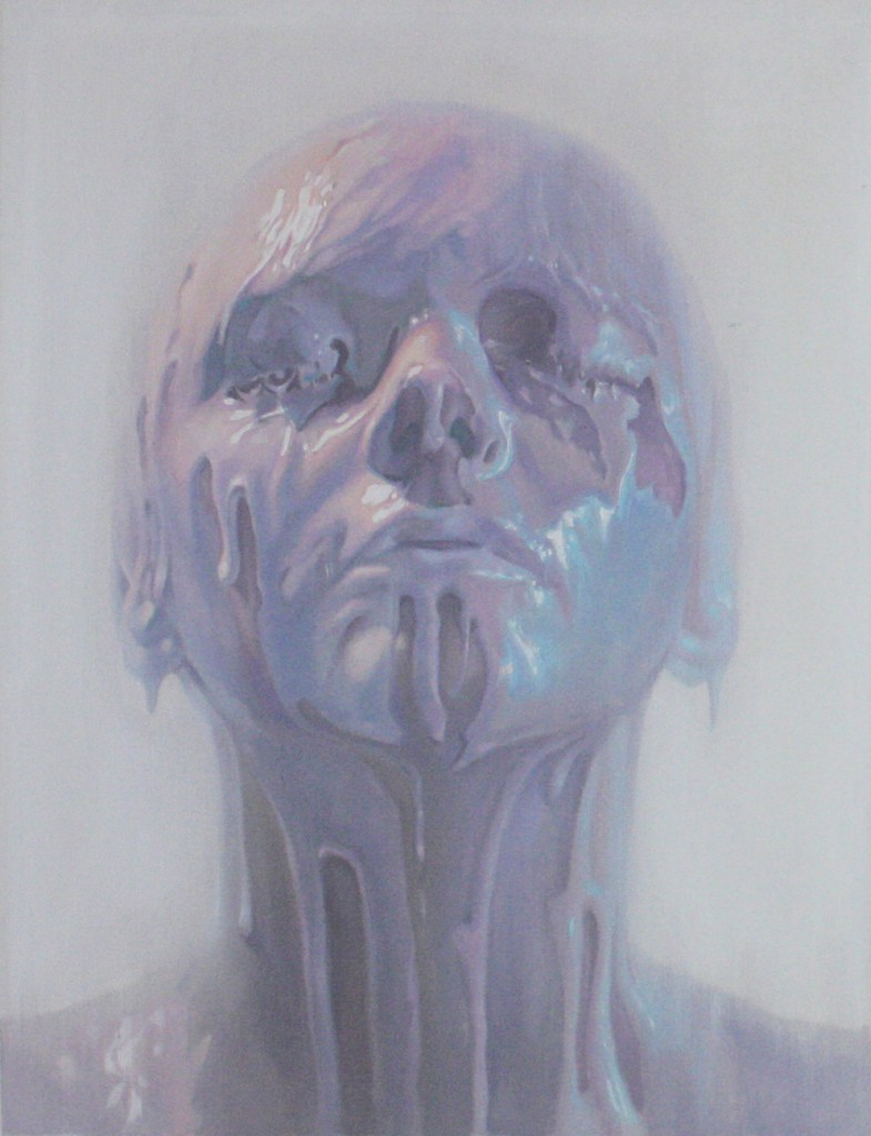 Ivan  Alifan -  <strong>Porcelain Body</strong> (2014<strong style = 'color:#635a27'></strong>)<bR /> oil on canvas,   24 x 18 inches  (60.96 x 45.72 cm)