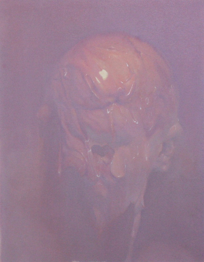 Ivan  Alifan -  <strong>Untitled</strong> (2014<strong style = 'color:#635a27'></strong>)<bR /> oil on canvas,   24 x 18 inches  (60.96 x 45.72 cm)