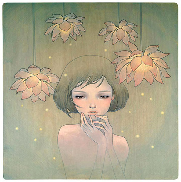 Audrey  Kawasaki -  <strong>If Only You Were Here</strong> (2008<strong style = 'color:#635a27'></strong>)<bR /> UltraChrome print on 300 gsm paper,   25 x 24 inches (63.5 x 60.96 cm)  27.75 x 26.75 inches, framed,   Edition 148 of 150