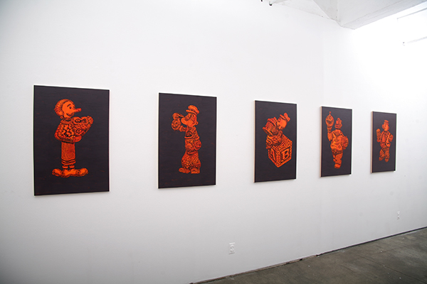 Mark Dean  Veca -  <strong>INSTALLATION VIEW</strong> (<strong style = 'color:#635a27'></strong>)<bR />
