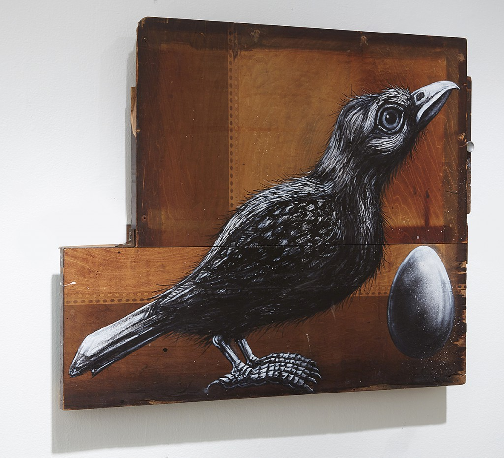 Roa      -  <strong>Sturnus Vulgaris (DETAIL)</strong> (<strong style = 'color:#635a27'></strong>)<bR />