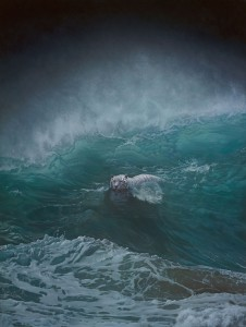 Joel Rea -  <strong>Solo</strong> (2015<strong style = 'color:#635a27'></strong>)<bR />  oil on canvas 48.03 x 36.22 inches (122 x 92 cm)
