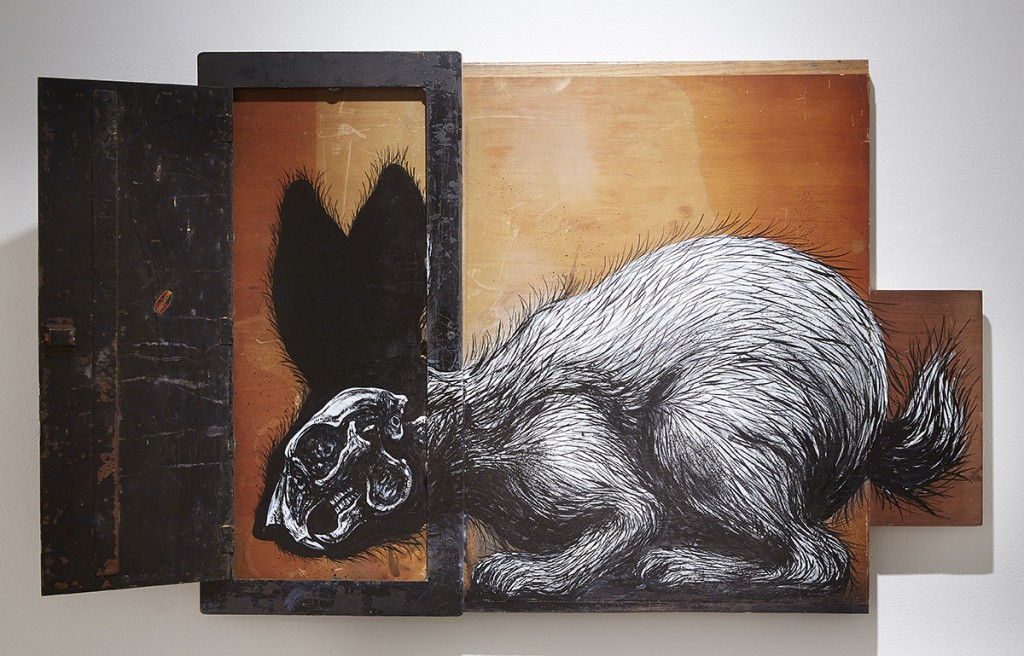 Roa      -  <strong>Sylvilagus Audubonii (DETAIL)</strong> (<strong style = 'color:#635a27'></strong>)<bR />
