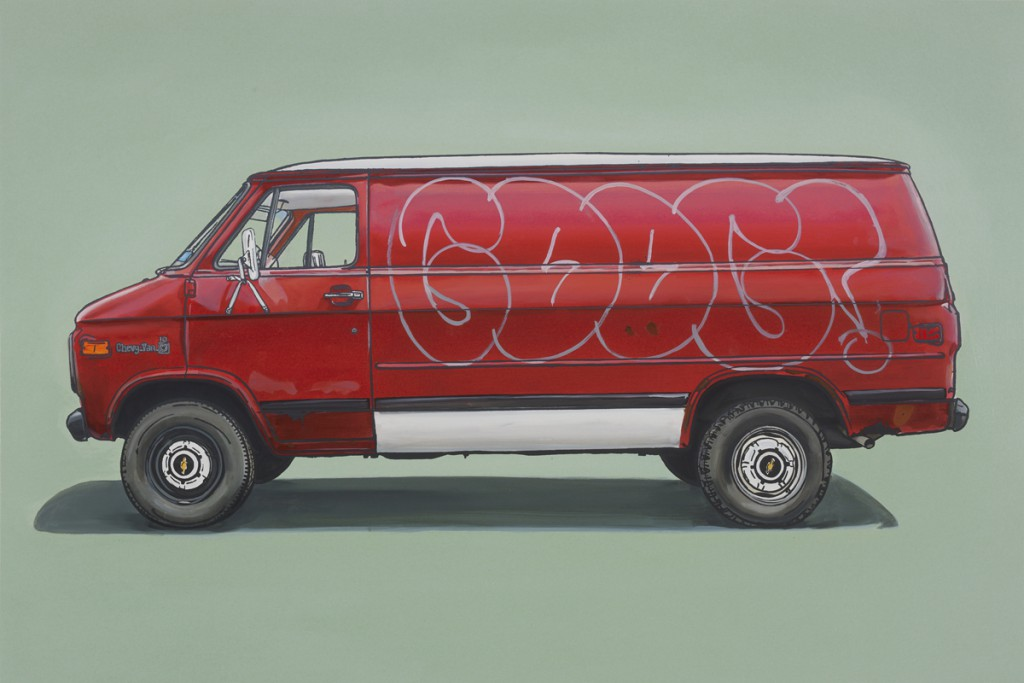 Kevin  Cyr -  <strong>River</strong> (2012<strong style = 'color:#635a27'></strong>)<bR /> oil and silkscreen on panel,   20 x 30 inches  (50.8 x 76.2 cm),   Hand-painted multiple (HPM)  Edition of 5