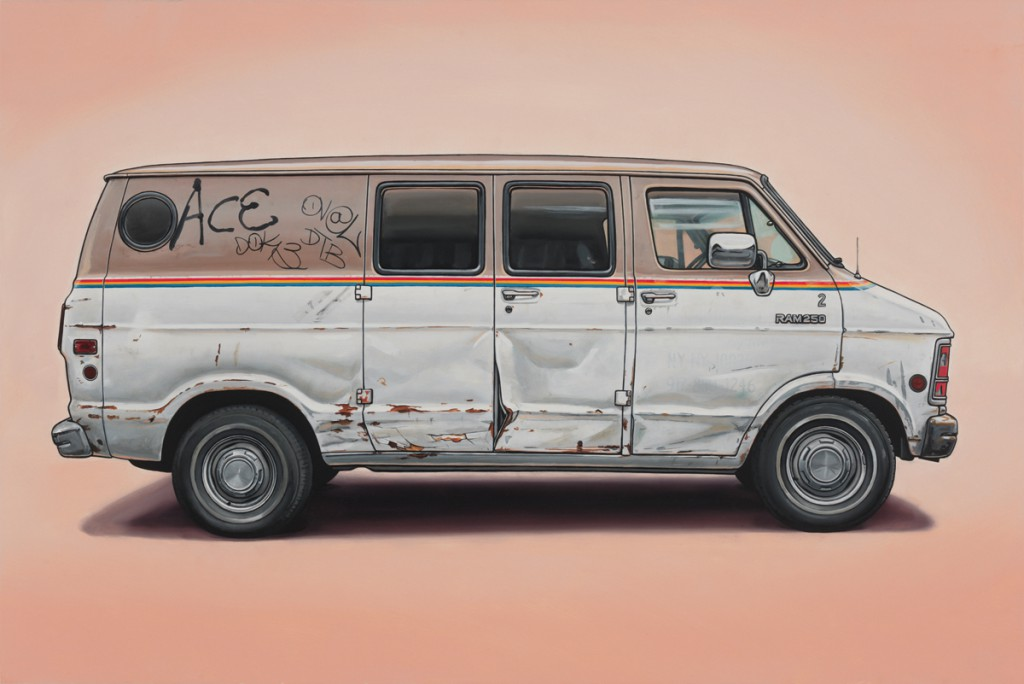 Kevin  Cyr -  <strong>Vernon</strong> (2012<strong style = 'color:#635a27'></strong>)<bR /> oil on panel,   20 x 30 inches  (50.8 x 76.2 cm)