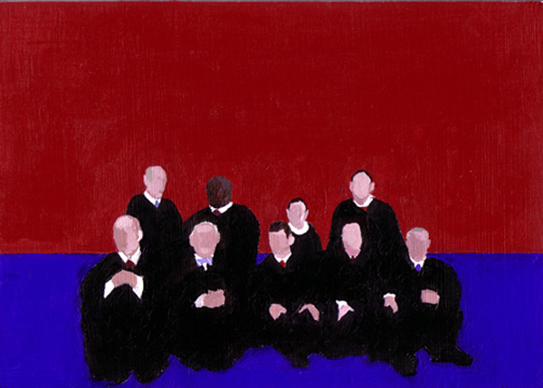 The Panorama Project  &nbsp -  <strong>James Leveillee,</strong> (2008<strong style = 'color:#635a27'></strong>)<bR /> Acrylic on board,   5 x 7 inches