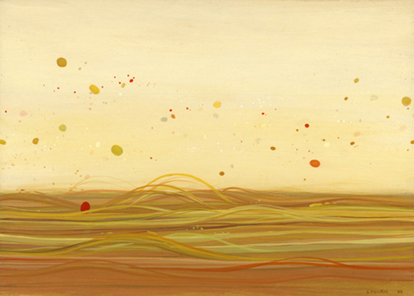 The Panorama Project  &nbsp -  <strong>Brendan Monroe,</strong> (2008<strong style = 'color:#635a27'></strong>)<bR /> Acrylic on board,   5 x 7 inches