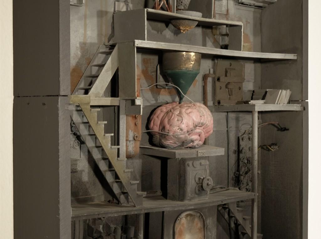 Marc  Giai-Miniet -  <strong>Remplissage du cerveau (DETAIL)</strong> (<strong style = 'color:#635a27'></strong>)<bR />