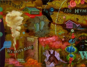 Dan  Kennedy -  <strong>The Prospector's Last Dream (DETAIL)</strong> (<strong style = 'color:#635a27'></strong>)<bR /> DETAIL