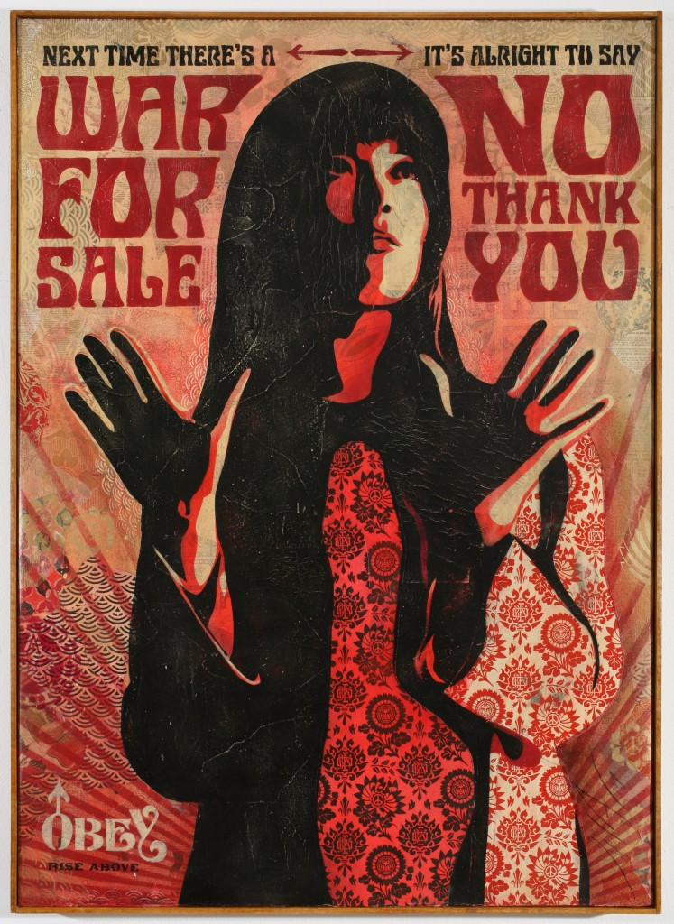 Shepard Fairey -  <strong>War For Sale</strong> (2007<strong style = 'color:#635a27'></strong>)<bR />