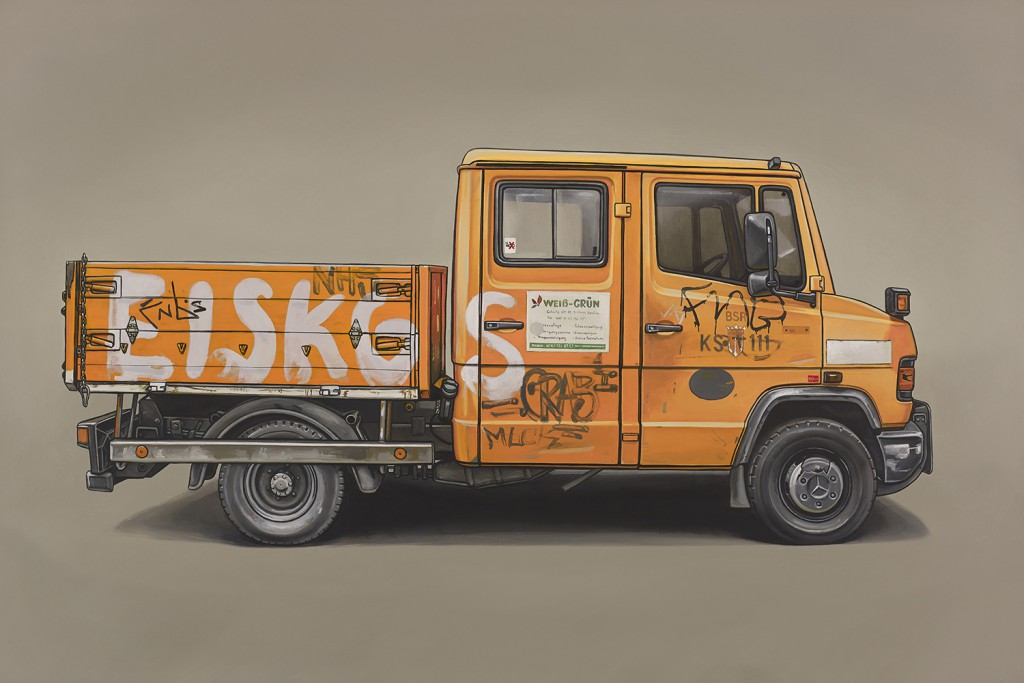Kevin  Cyr -  <strong>Wolliner</strong> (2014<strong style = 'color:#635a27'></strong>)<bR /> oil on panel,   16 x 24 inches  (40.64 x 60.96 cm)