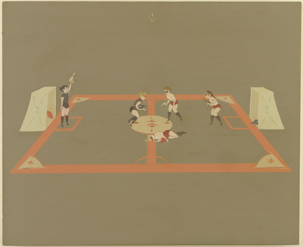 Matt  Haber -  <strong>Blacktop</strong> (2005<strong style = 'color:#635a27'></strong>)<bR /> Acrylic and latex on panel -Contact gallery for availability-