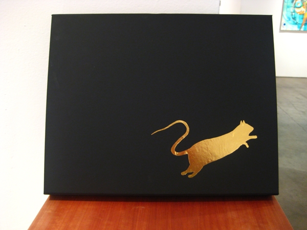 Blek le Rat  &nbsp -  <strong>Blek le Rat Limited Edition Book set by Wooster Collective</strong> (<strong style = 'color:#635a27'></strong>)<bR /> Set case