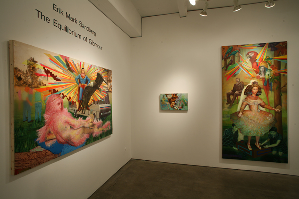 Erik Mark  Sandberg -  <strong>View into Gallery II</strong> (<strong style = 'color:#635a27'></strong>)<bR />