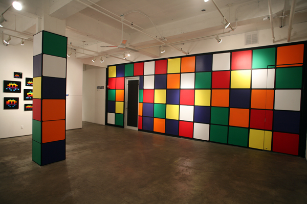 Invader  &nbsp -  <strong>The Rubik Wall</strong> (<strong style = 'color:#635a27'></strong>)<bR />