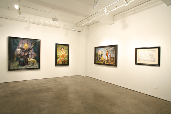 Alex  Gross -  <strong>View into the Main Gallery</strong> (<strong style = 'color:#635a27'></strong>)<bR />