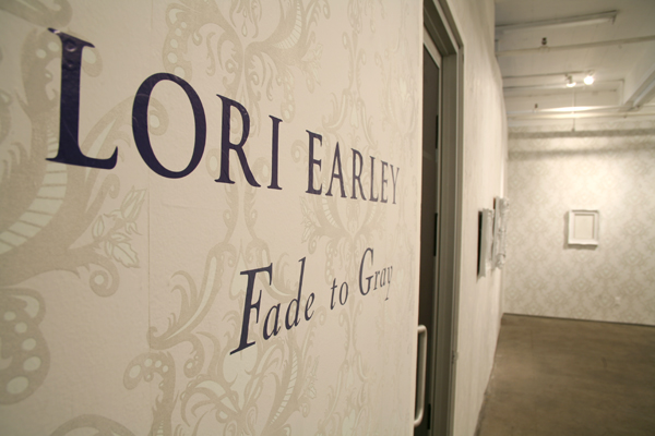 Lori  Earley -  <strong>Fade to Gray Installation</strong> (<strong style = 'color:#635a27'></strong>)<bR />