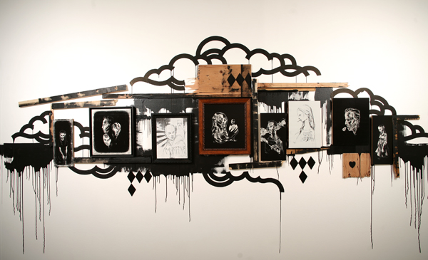 Hamilton  Yokota (Titi Freak) -  <strong>The Massive Installation of Titi Freak's Etchings</strong> (<strong style = 'color:#635a27'></strong>)<bR />