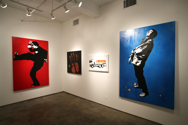 Blek le Rat  &nbsp -  <strong>Breaking Down Walls and Friends</strong> (<strong style = 'color:#635a27'></strong>)<bR />