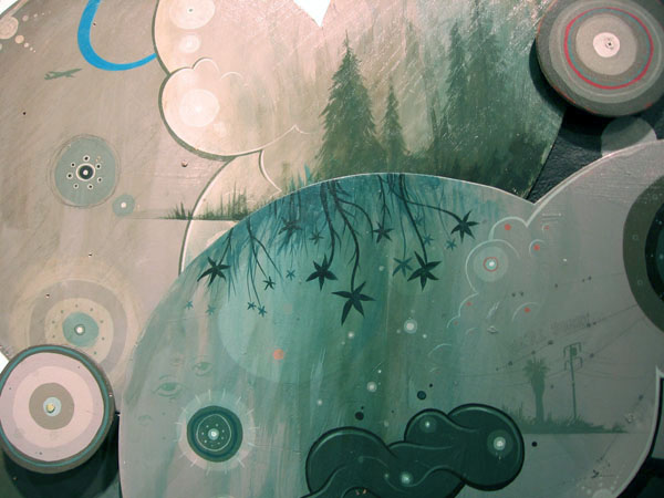 Jeff  Soto -  <strong>Smile Now Cry Later (detail)</strong> (2007<strong style = 'color:#635a27'></strong>)<bR />