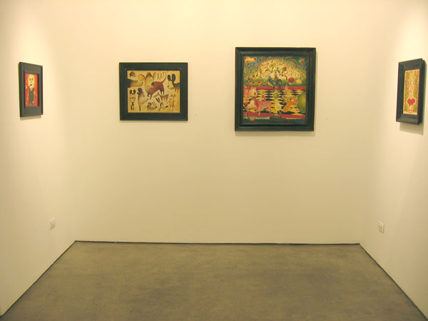 """Daniel  Peacock -  <strong>Proof Denies Faith</strong> (<strong style = 'color:#635a27'></strong>)<bR /> """"Proof Denies Faith"""" exhibit featuring the work of Daniel Peacock"""